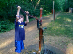 Hand Operated Well Pump