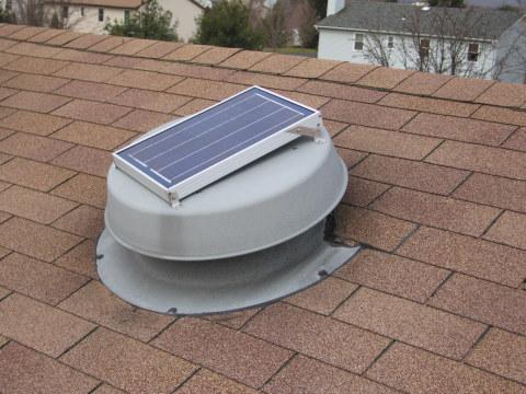 Solar Attic Vent